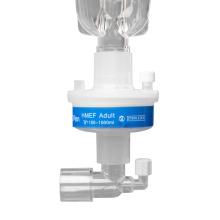 Filtro HME médico desechable para equipos de anestesia