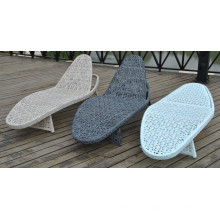 Outdoor moderne Chaise Mesh Lounge Rattan