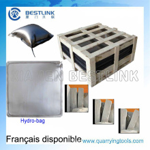 Marble Sandstone Block Pushing Hydro Bag for Quarry Stripping