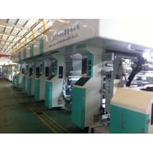 Impresora de huecograbado con máx. Velocidad de impresión de 150 m / min para PE transpirable de pañales especialmente