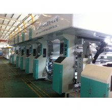 Rotogravure Printing Machine with Max. Printing Speed of 150m/Min for Breathable PE of Diapers Specially
