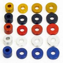 Много видов красочной анодированной алюминиевой плоской шайбы