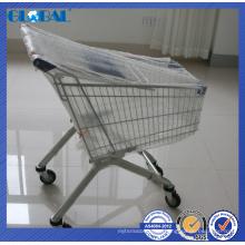 Продукты ячеистой сети супермаркета вагонетка/тележка для покупок