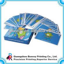 impresión de tarjeta de juego de naipes premium de tamaño estándar