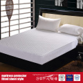 Material de la tela de algodón Estilo de la sábana ajustable Protector de colchón