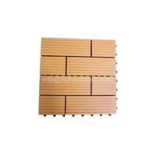 Teja antideslumbrante del suelo de WPC del Anti-UV de Wood-Like Wood-Like Wood