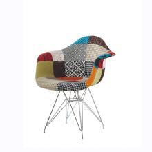 Chaises de salle à manger en plastique Chaise de support de barres d'armature à bras Papeller
