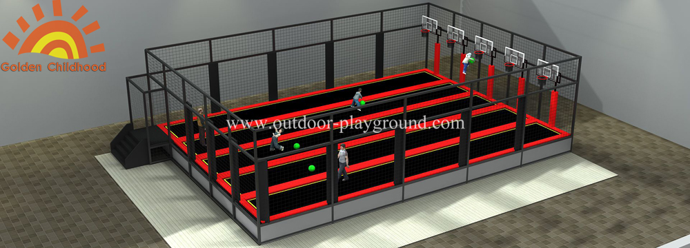 Basketball Trampoline Structure