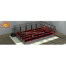 Basketball Trampoline Design Structure Playground