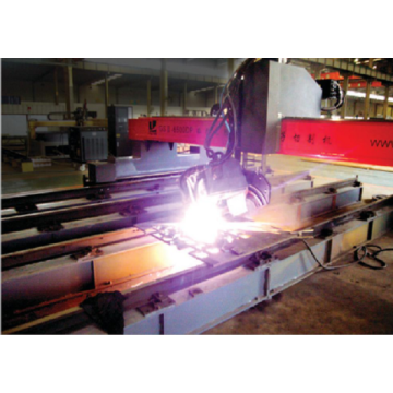 CNC Unlimited Rotary Plasma Bevel Cutting Machine