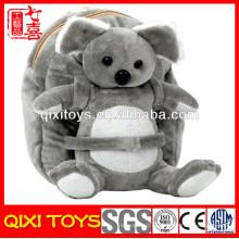 mochilas de animal plush koala felpa de los niños