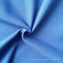 Algodão / spandex tecido de malha costela 2x2 (qf13-0688)
