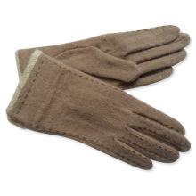 Lady Fashion Wool Knitted Winter Warm Dress Gloves (YKY5059)