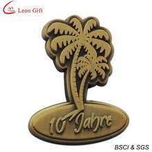 Insignia oro Metal de alta calidad personalizado (LM1755)