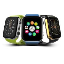 Montre intelligente colorée pour Apple iPhone 4 5s 6 Plus Bracelet Samsung Huawei Xiaomi Oppo Bt 4.0