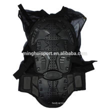 Venta al por mayor de Motocross Clothes Armor Black Motorcycle Jacket Quick Dry Sports Racing armadura de protección