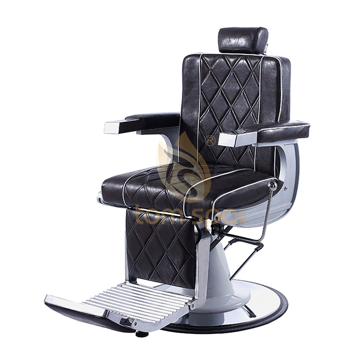 Black Reclining Styling Chair