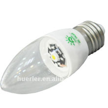 High Power 3w e27 brillant conduit bougies lumière
