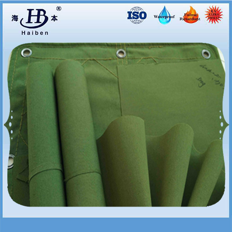 Polyester Silicone Coated Canvas1