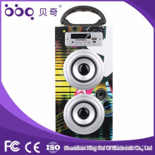 Holzradio Auto Lautsprecher tragbare Bluetooth Lautsprecher Box