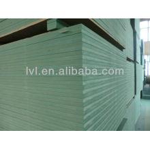 Impermeável / moistureproof mdf cor verde