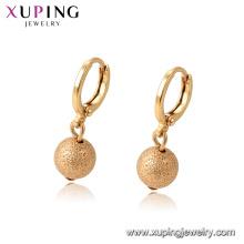 96949 xuping elegant18k dorado color pendiente de gota para las mujeres