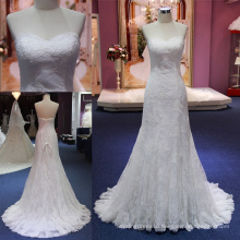 Sweetheart Lace Mermaid Prom Bridal Wedding Dress Gown Mat-109