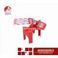 Wenzhou BAODI Шаровые краны для ручек Блокировка безопасности Блокировка безопасности BDS-F8601Red цвет