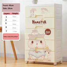 Stacking Design Organizer Plastic Drawer Storage Cabinets
