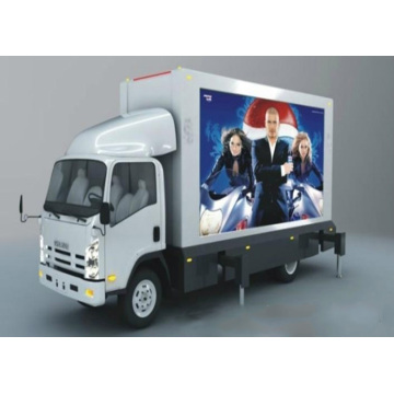 P8 / P10Outdoor Truck Advertising Video Wall Display Screen
