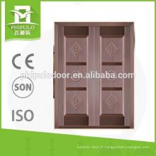 Porte blindée double sécurité avec design de luxe du PHIPULO DOORS