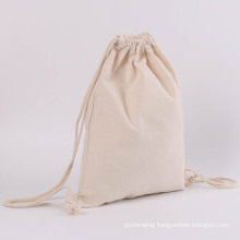 Trending cotton drawstring bag, Cheap 12oz cotton bag, 100% nature biodegradable cotton drawstring bag