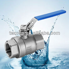 2 PC stainless steel ball valve 1000WOG DIN3202-M3