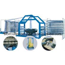 Самый новый тип Six Shuttle / Four Shuttle Plastic Circular Loom Machine