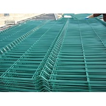 Low Price 2X2 PVC Welded Wire Mesh Fence Panels in 6 Gauge