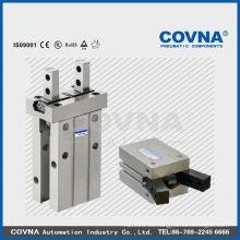 Serie MH de alta resistencia y precisión del cilindro de agarre de aire igual a smc tipo