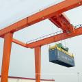 RMGType grúa de pórtico montada en carril para contenedores de elevación