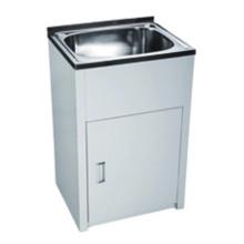 Bathroom White Single Sink Laundry Tub (560)