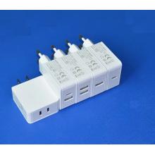 5В 2.4 a двойной Тип-C USB зарядное устройство 2 порт зарядное устройство