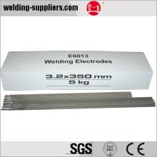 Electrodo de soldadura de acero al carbono bajo AWS E6013