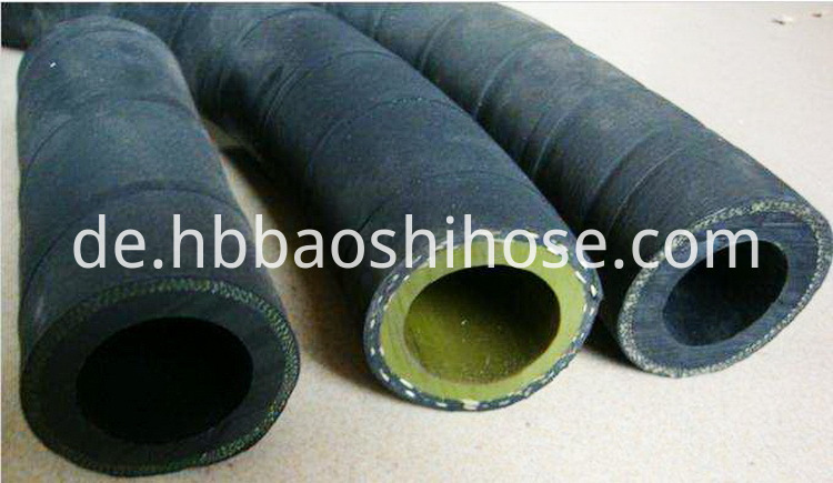 Heavy Sand Blasting Rubber Pipe