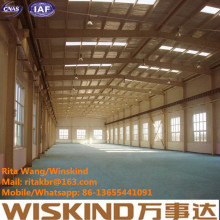 Construção de estrutura de aço personalizada / estrutura de aço fabricado pela Wiskind