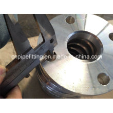 Alumínio 6061 T6 Forjado pescoço pescoço Flange, Flange Placa, Alumínio 6061 T6 Flange