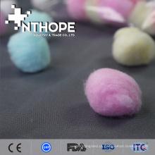 bola de algodão roxo barato da corrente leve do produto médico