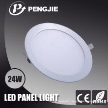 Le cadre blanc moderne logeant la lumière de panneau de 60cmx60cm LED