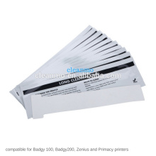 200/100 печати ID карт Набор для чистки упаковка из 10 для evolis Badgy принтер карточки