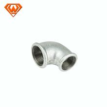 Coude ajustable de tuyau de Gi perlé Réduction des raccords de tuyauterie en fonte malléable