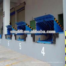 loading 10t manual hydraulic dock levelers