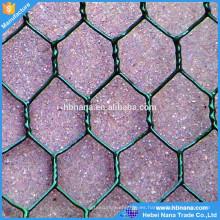 malla de alambre hexagonal galvanizada del gallinero de pollo / cerca hexagonal de la malla de alambre