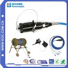 Patch tactique en fibre optique pour connexion militaire